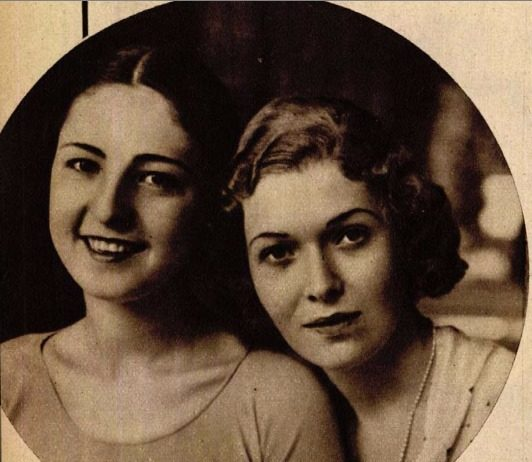 Keriman Halis és Lampel Ica – Miss Universe és Miss Magyarország a Színházi Élet 1932/33. számában