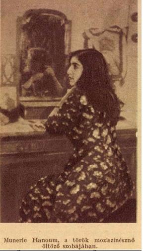 Münire Eyüp öltözőjében – a Tolnai Világlapja 1926. május 12-i számában