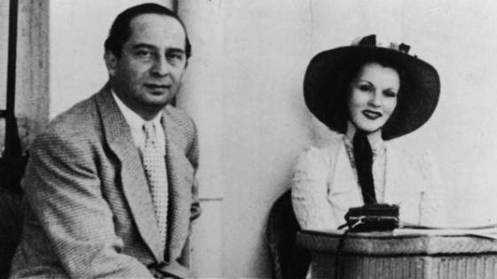 Zsazsa Gábor ve Burhan Asaf Belge