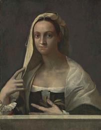 Szövegdoboz: Sebastiano del Piombo Giulia Gonzagát ábrázoló portréja